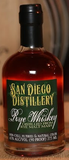 San Diego Distillery Rye Whiskey 375ml bottle