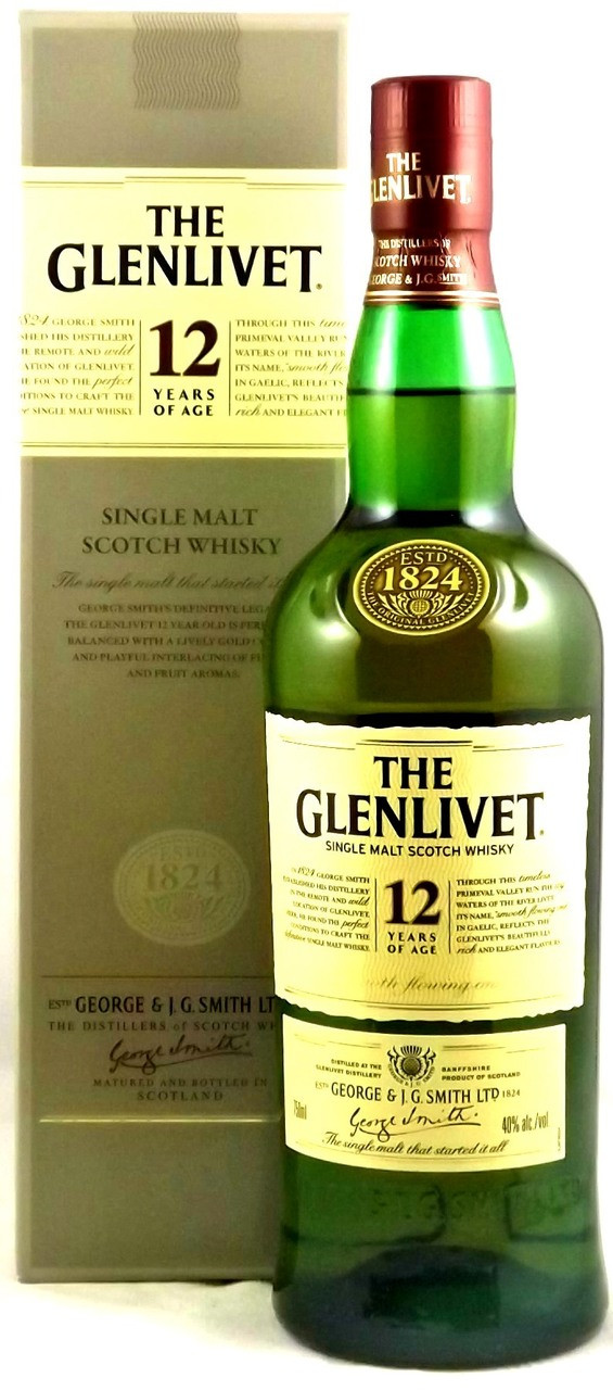 glenlivet 12 year old the whisky shop