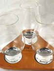Glencairn Crystal Glass and Tray Set