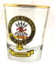 Clan Crest Tot Glass