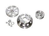 ISR Performance Light Weight Pulley Kit - Silver - SR20DET S13