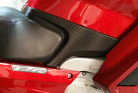 FJR1300 Carbon Fiber Custom Wrap Panel Below Tank
