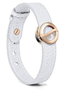 Philip stein, horizon, bracelet , rose gold, white