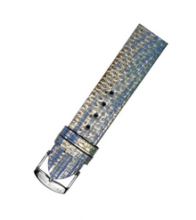 PHILIP STEIN, WATCH STRAP, KARUNG, GOLD & BLUE, 1-UBLM, WATCH BAND