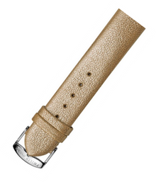 PHILIP STEIN, WATCH STRAP, GOLD, LEATHER, 1-CSHG, 18MM, WATCH BAND