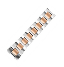 philip stein, watch band, strap, stainless steel, rose gold, two tone 1-SS3-TRG