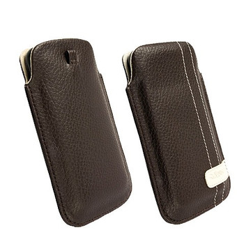 Krusell GAIA Mobile Pouch Large Brown