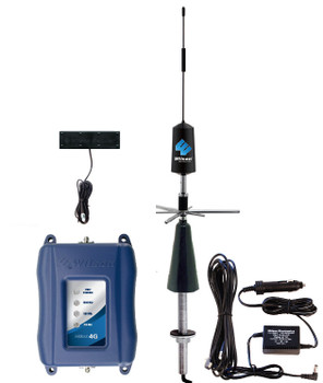 weBoost Drive 4G-M Mobile RV Signal Booster [w/Hole Mount 3G Antenna]