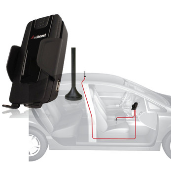 weBoost Drive 4G-S Mobile Cellular Signal Booster