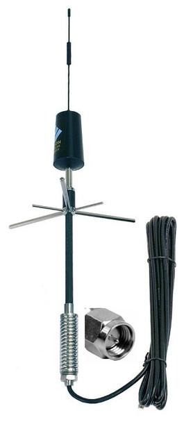 Wilson Trucker 3G Cellular Antenna 22in Mirror/Pole Mnt w/Spring SMA M
