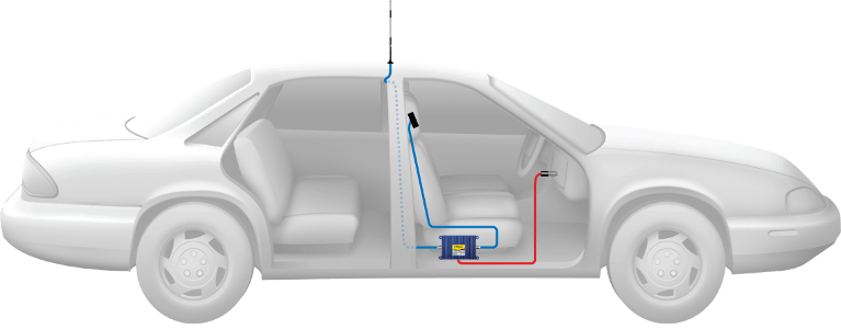 Diagram Of Car Cellular Amplifier System