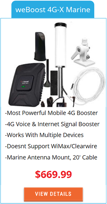 Mobile Signal Booster weBoost 4G-X Marine