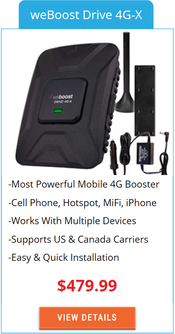Mobile Signal Booster weBoost Drive 4G-X