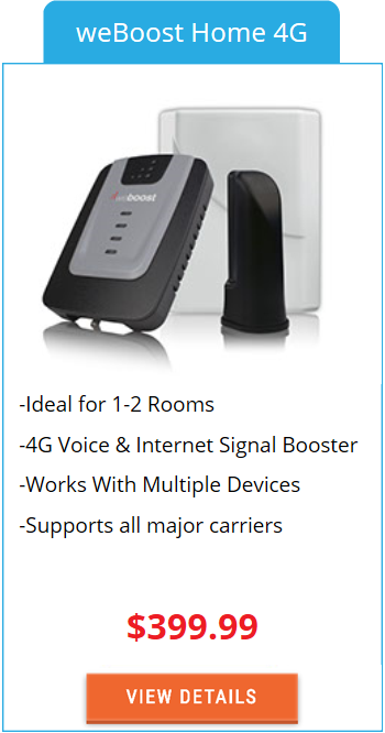 Building Signal Booster weBoost Home 4G