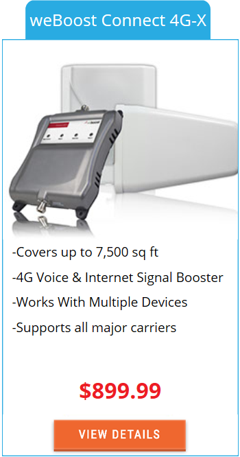 Building Signal Booster weBoost Connect 4G-X