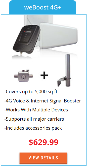 Building Signal Booster weBoost 4G+