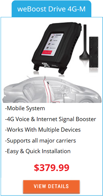 Mobile Signal Booster weBoost Drive 4G-M