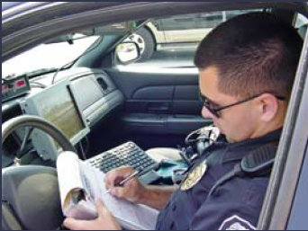 police cellular communications