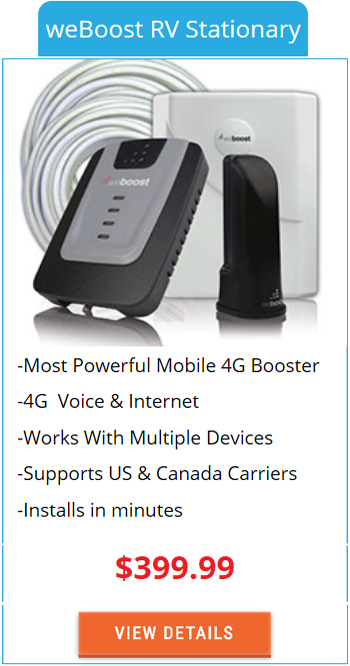 Mobile Signal Booster weBoost RV Stationary
