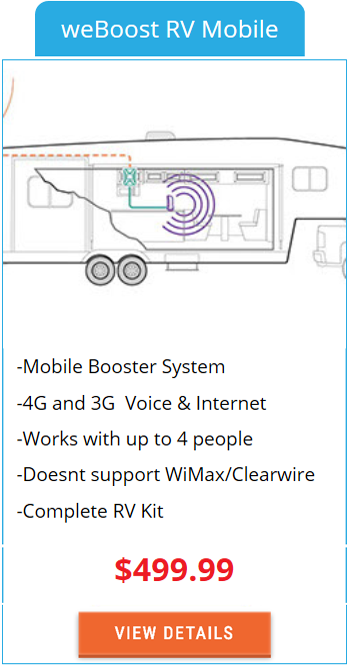 Mobile Signal Booster weBoost RV Mobile