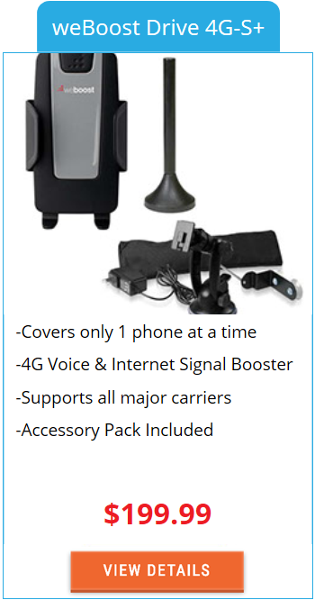Building Signal Booster weBoost Drive 4G-S+