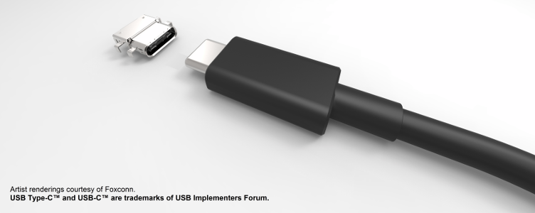 image of usb type c connector