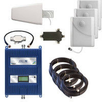 WilsonPro 70 PLUS Cell Phone Signal Booster With 3 Panel Antennas