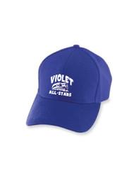 ADULT Embroidered Purple Ball Cap Flex Fit OSFM