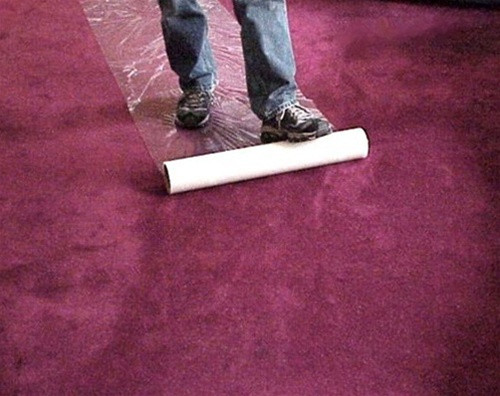 Carpet Barrier Application