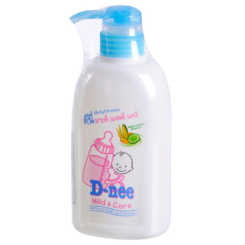 Nước rửa bình sữa dạng chai Dnee 500ml