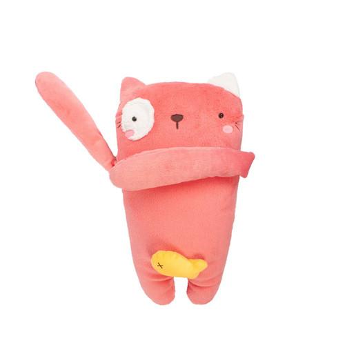 Sikula Gấu bông Mèo hồng