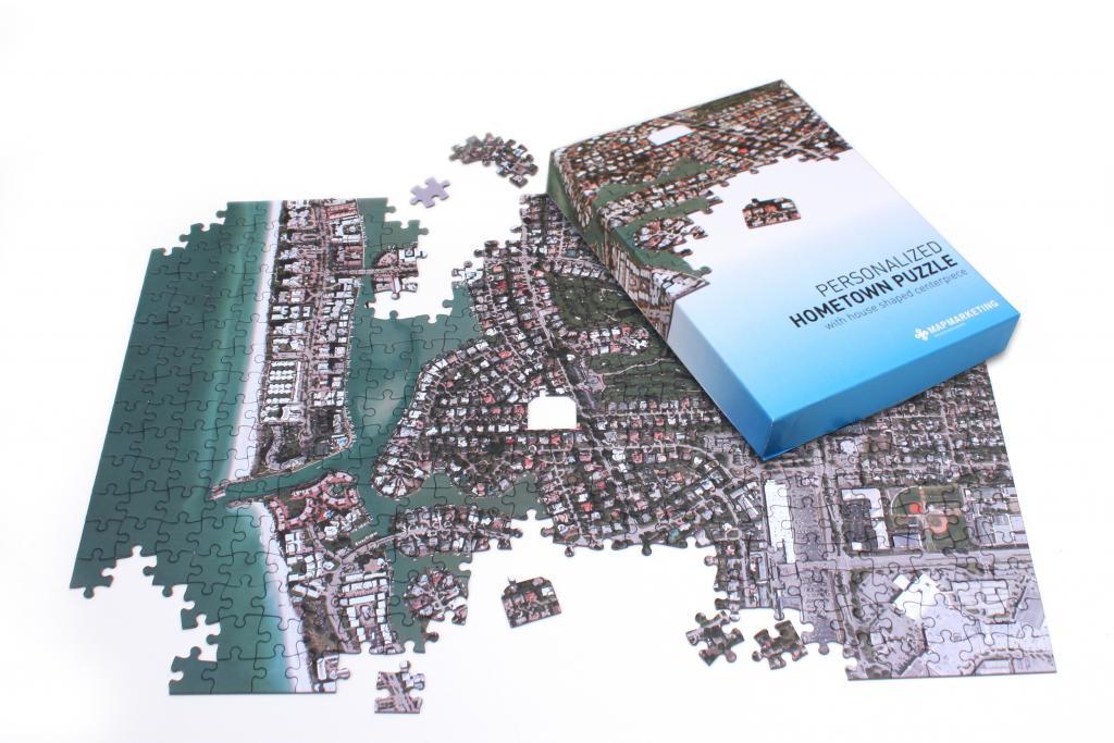 Satellite Puzzles Aerial Map Puzzles
