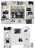 The Beatles Newspaper Historic Coverage