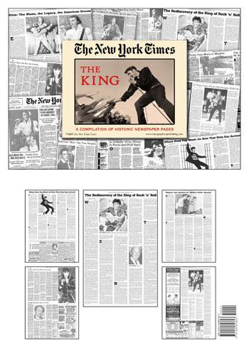 Elvis Newspaper - Historic NYTimes Coverage