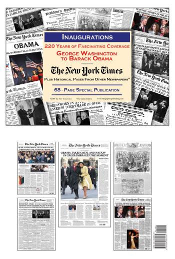 Presidential Inaugurations By NY Times