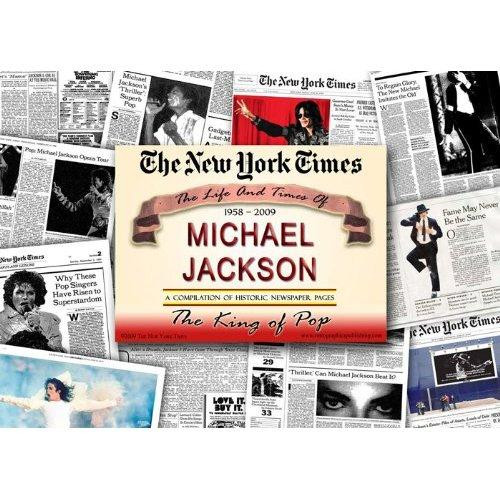 Michael Jackson Newspaper Historic Coverage