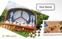 Picnic Personalized Jigsaw Puzzle