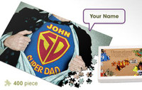 Super Dad Personalized Jigsaw Puzzle