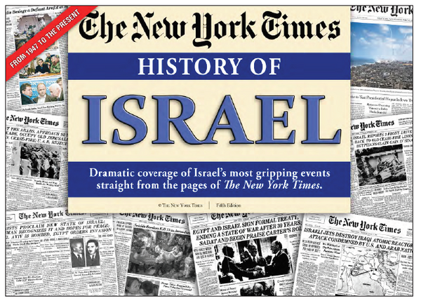 The History of Israel from the NY Times