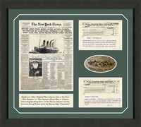 The RMS Titanic Framed Art
