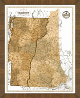 Old Map of Vermont