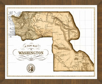 Old Map of Washington