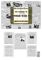 World War Two covered by The NY Times