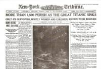 Titanic Newspaper