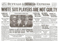 White Sox Acquitted Newspaper