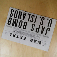 Pearl Harbor Newspaper