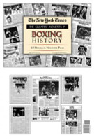 Boxing History - Great Moments Newspaper