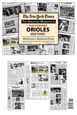 Baltimore Orioles History Newspaper