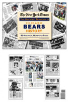 Chicago Bears History Newspaper