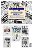 Dallas Cowboys History Newspaper